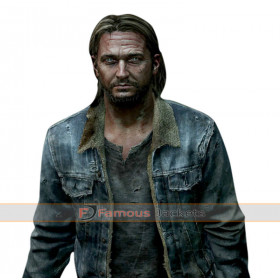 The Last Of Us Part II Joel Denim Fur Jacket