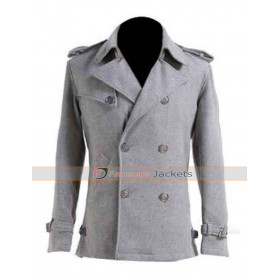 Edward Cullen Twilight Saga Movie wool Coat