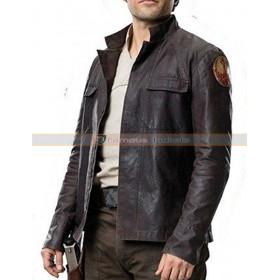 Star Wars Poe Dameron (Oscar Isaac) The Last Jedi Leather Jacket