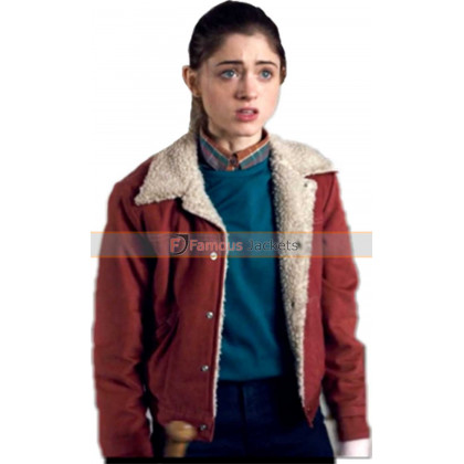 Nancy Wheeler Stranger Things Natalie Dyer Cotton Jacket