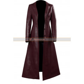 X-men: Dark Phoenix Jean Grey Leather Coat