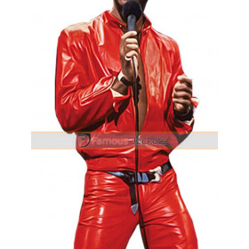 Eddie Murphy Classic Raw Concert Leather Costume