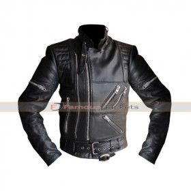 Hein Gericke Live Eagle Riding Black Brando Leather Jacket