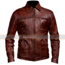 Inception Leonardo DiCaprio Cobb Brown Jacket