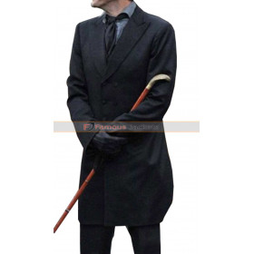 David Tennant Good Omens Crowley Trench Coat