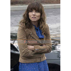 Dead to Me Linda Cardellini Suede Leather Jacket