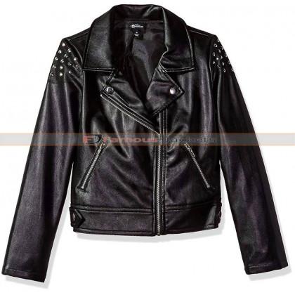 Girls Descendants 2 Studded Moto Jacket