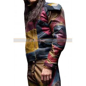 Descendants 3 Jay Multicolored Leather Jacket