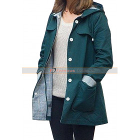 Doctor Who Clara Oswald Coat with Hood