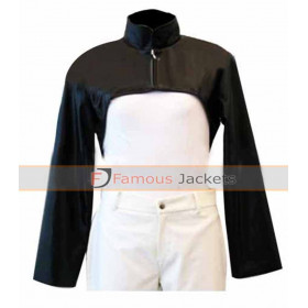 Ghost in the Shell Short Body Black Jacket