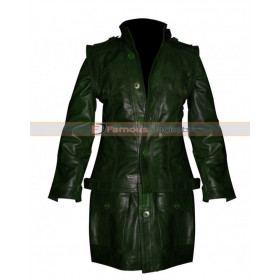 Green Trench Coat For Men