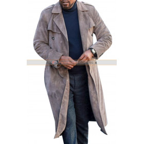 John Shaft 2019 Grey Duster Coat