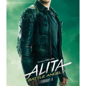 Alita Battle Angel (Keean Johnson) Hugo Jacket