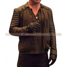 Padded Sleeves Jacket Worn by Dominic Purcell Legends of Tomorrow
