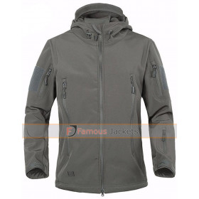 Men's Military Softshell Camouflage Outdoor Coat
