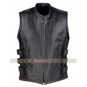 Mortal Kombat X Noob Saibot Leather Vest