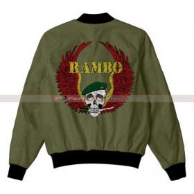Rambo Cast Crew Sylvester Stallone Jacket