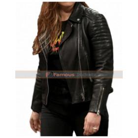WWE Ronda Rousey Motorcycle Leather Jacket