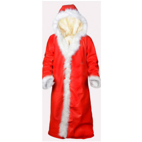 Kurt Russell Christmas Chronicles Santa Claus Coat
