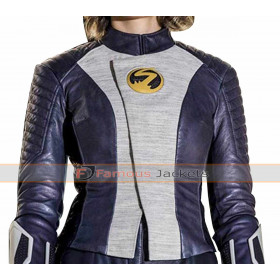 The Flash Season 5 Nora West Allen XS Leather Jacket