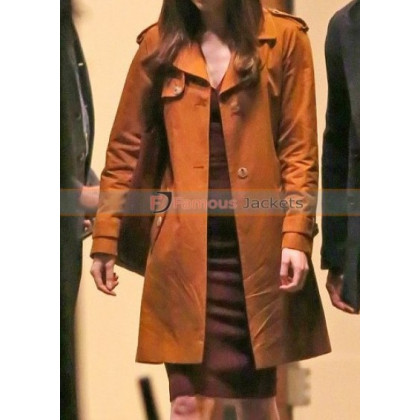Anastasia Steele Fifty Shades Darker Trench Coat