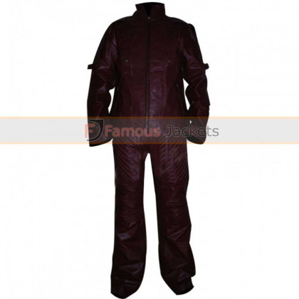 Guardians Of The Galaxy Chris Pratt (Star Lord) Leather Pants