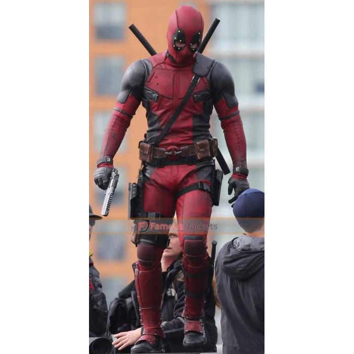 Deadpool 2016 Ryan Reynolds (Wade Wilson) Jacket Costume