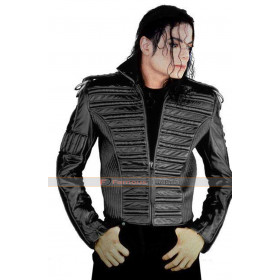 Michael Jackson Man In The Mirror Leather Jacket