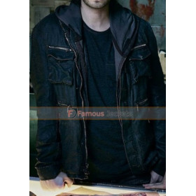 Aaron Stanford 12 Monkeys Leather Jacket