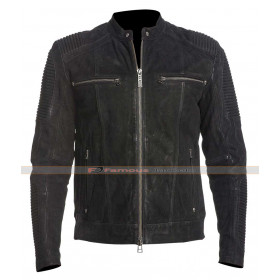 Men's Fury Road Imported Black Leather Jacket