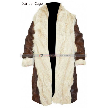 2e0cbdd3 Vin Diesel XXX 3 Return of Xander Cage Fur Coat