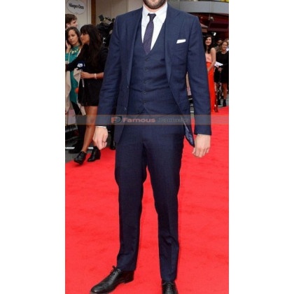 Bad Education Movie Premiere Jack Whitehall Suit