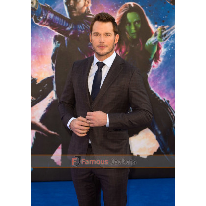 Chris Pratt Guardians of the Galaxy Premiere Suit