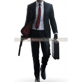 Hitman Video Game 2016 Black Suit