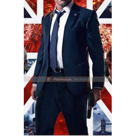Gerard Butler London Has Fallen Mike Banning Blue Suit
