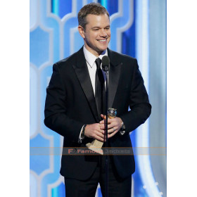 Matt Damon Oscar 2016 Black Suit