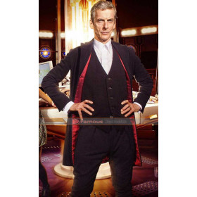 Doctor Who Peter Capaldi Wool Suit