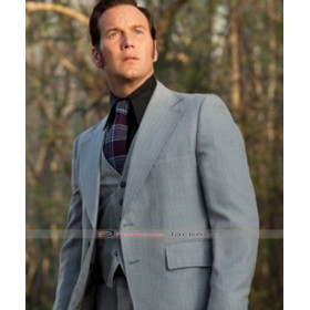 The Conjuring 2 Patrick Wilson (Ed Warren) Grey Suit