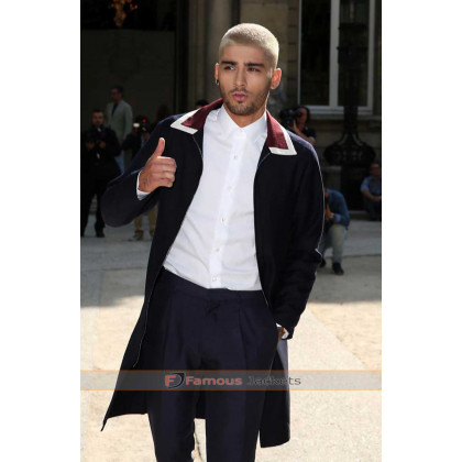 Zayn Malik Red Carpet 2015 Blue Suit