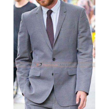 Aaron Paul Burberry Gray Suit