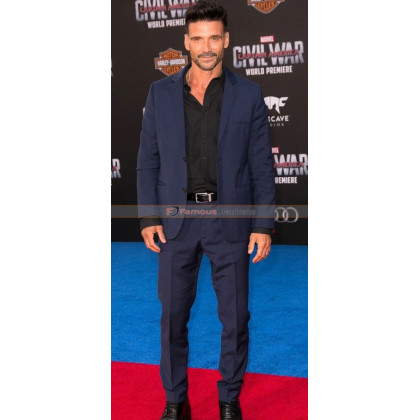 Crossbones CA Civil War Premiere Frank Grillo Suit