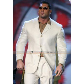 WWE Dave Batista White Suit