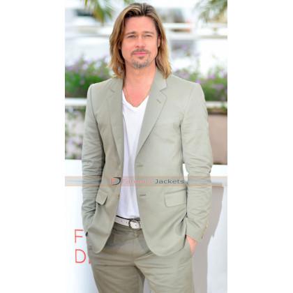 Killing Them Softly Brad Pitt Grey Suit