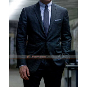 James Bond Skyfall Daniel Craig Grey Suit