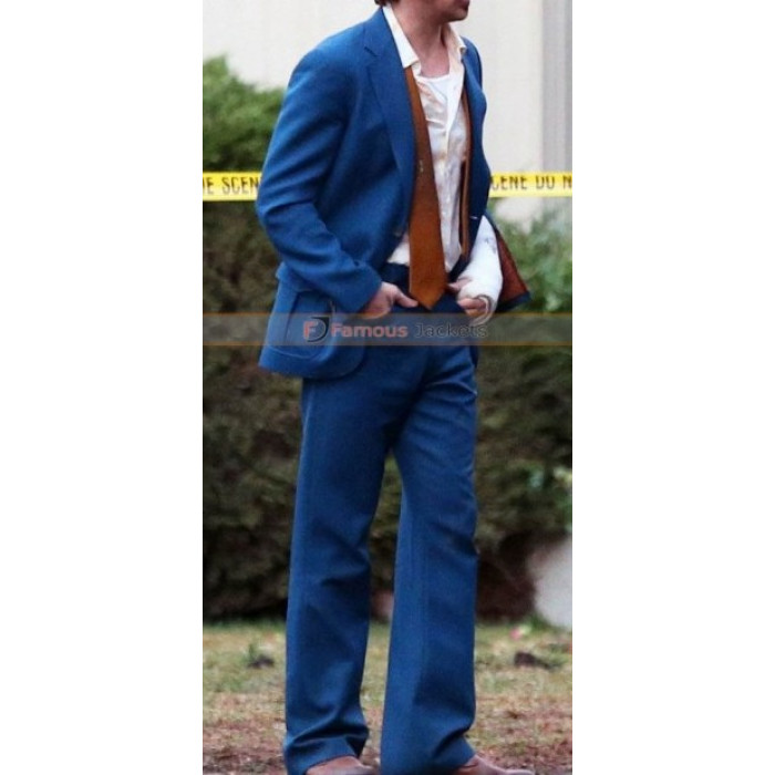 Nice Guys Ryan Gosling (Holland March) Black / Blue Suit