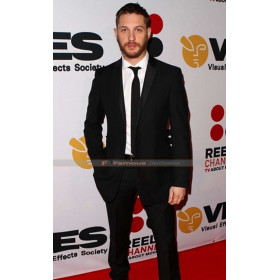 Tom Hardy Black Men's Casual Suit