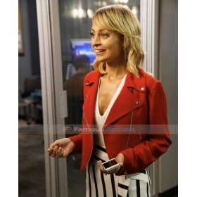 Great News TV Series Nicole Richie Red Short Jacket