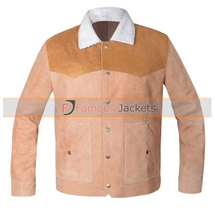 Yellowstone John Dutton Suede Leather Jacket