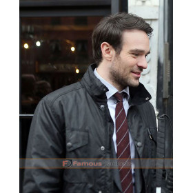 The Defenders Charlie Cox (Daredevil) Black Jacket
