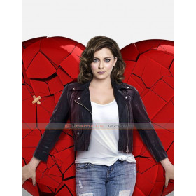 Crazy Ex-Girlfriend TV Series Rebecca Bunch Leather Jacket